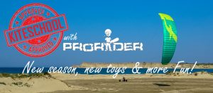 Prorider kiteschool summer 2019