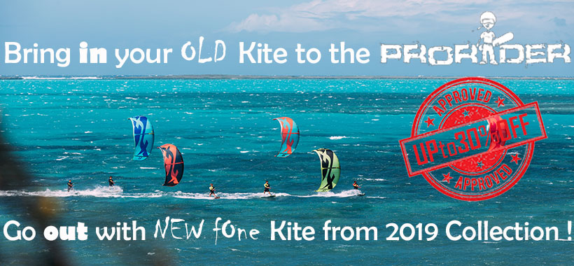Prorider SHOP Promo'action for summer 2019 kites
