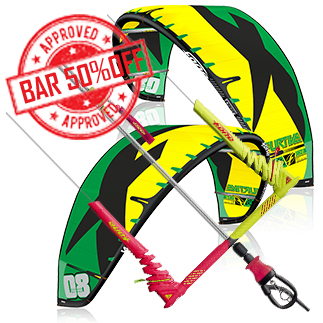 Prorider SHOP Pack Kite+bar f-one furtive