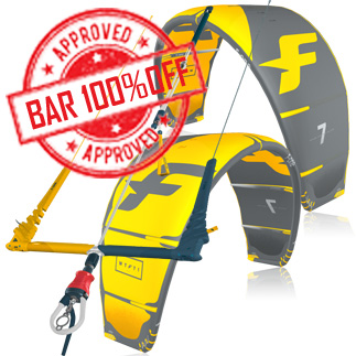 product Pack Kite+bar f-one wtf