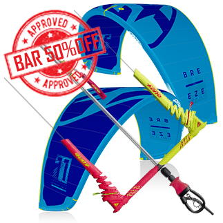 Prorider SHOP Pack Kite+bar f-one breeze