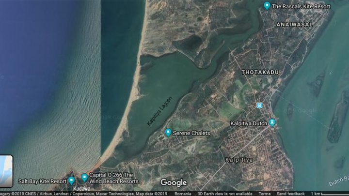 Prorider TRIP Sri Lanka Kalpitiya Map Satellite where to stay