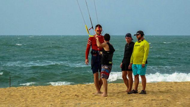 Prorider scoala kiteboard curs Sri Sri Lanka