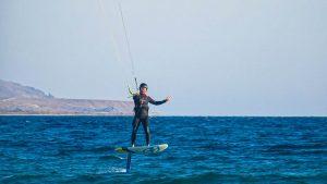 Prorider scoala kiteboard curs Gokceada cu George Lipanescu hydrofoil
