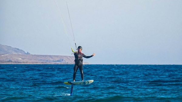 Prorider scoala kiteboard curs Gokceada cu George Lipanescu hidrofoil