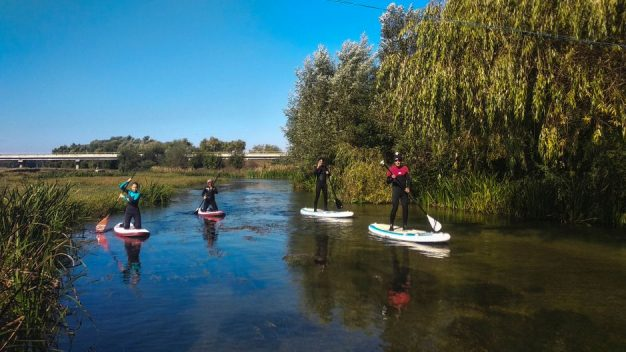 Prorider weekend Trip with Stand-up-paddle on Naejlov near Bucuresti