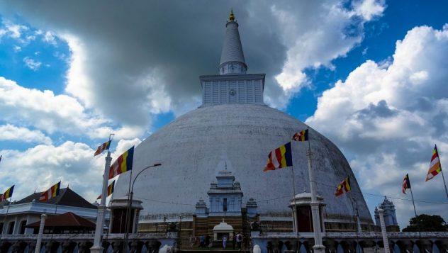Prorider Trip Sri Lanka Frumusețe Anuradhapura (ruwanwelisaya) Stupa Buddha