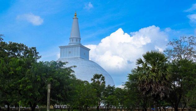 Prorider Trip Sri Lanka Frumusețe Anuradhapura (ruwanwelisaya) Stupa