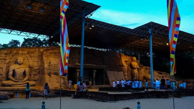 Prorider Trip Sri Lanka Beauty Polonaruwa Temple Buddha