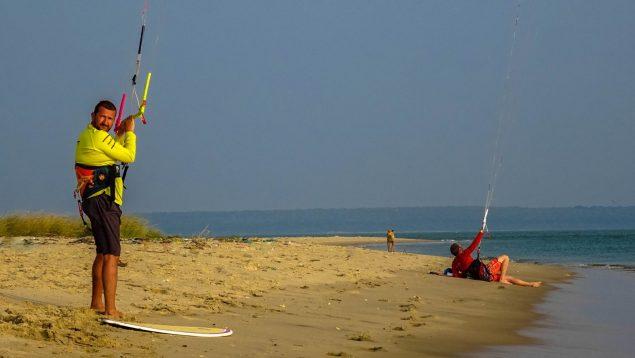 Prorider Trip Sri Lanka Kite Spot Kalpitiya Vella Island Downwind Departure