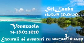 Prorider Trip Sri Lanka+venezuela