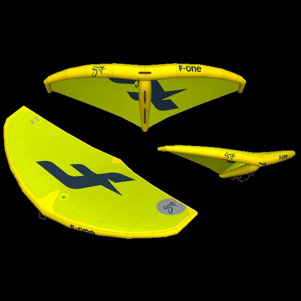 Prorider shop f-one Swing Yellow Lime Slate 72dpi