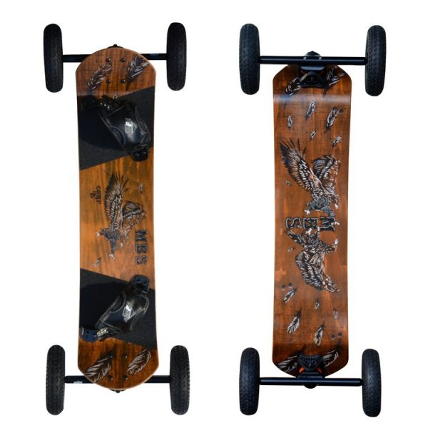 Prorider Shop: Mbs 10301 Comp 95 Mountainboard Birds Front+back