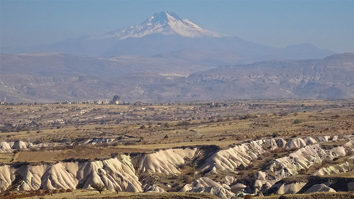 Prorider Story Trip Turkey Cappadocia View Of Mont Erciyes