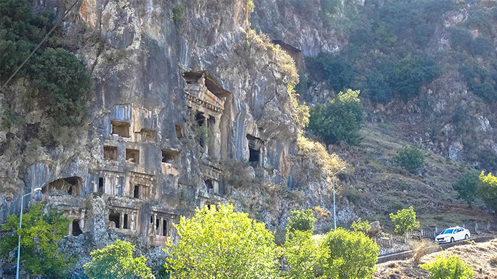 Prorider Story Trip Turkey Fethiye Amyntas Rock Tombs