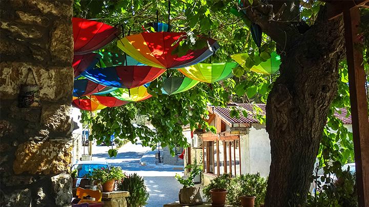 Prorider Story Trip Turkey Gokceada Centre Small Street
