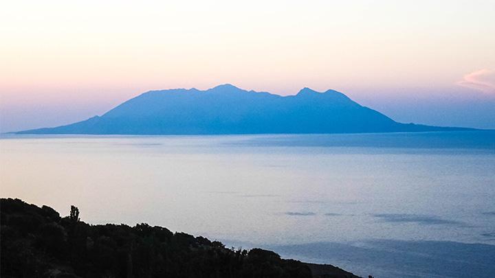 Prorider Story Trip Turkey Gokceada Greek Island Samotraki Sunset