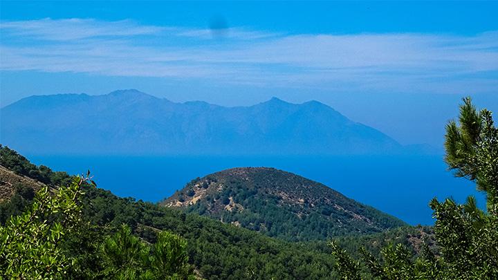 Prorider Story Trip Turkey Gokceada Greek Island Samotraki View
