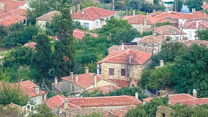 Prorider Story Trip Turkey Gokceada Greek Village Kelekoy Houses