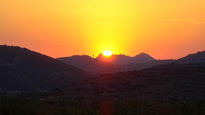 Prorider Story Trip Turkey Gokceada Island Sunset