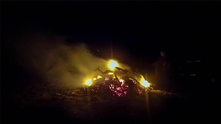 Prorider Story Trip Turkey Gokceada Night Fire