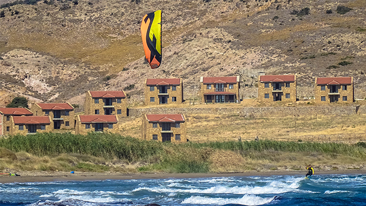 Prorider Story Trip Turkey Gokceada On Shore Beach Kite F One