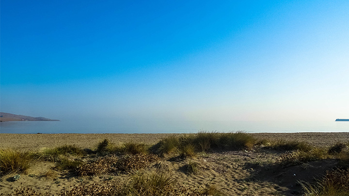 Prorider Story Trip Turkey Gokceada On Shore Beach Mirror Flat