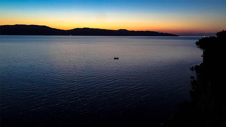 Prorider Story Trip Turkey Gokceada On Shore Beach Night