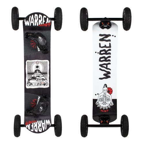 Prorder Shop: Mbs 10405 Pro 97 Mountainboard Dwii Front+back