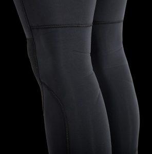 Manera Men 543 Magma Black Hooded Tech Back Knee Emboss