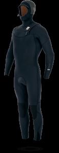 Manera Men 543 Magma Black Hooded Tech Out