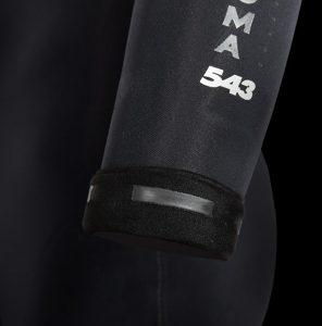 Manera Men 543 Magma Black Hooded Tech Sealing Print