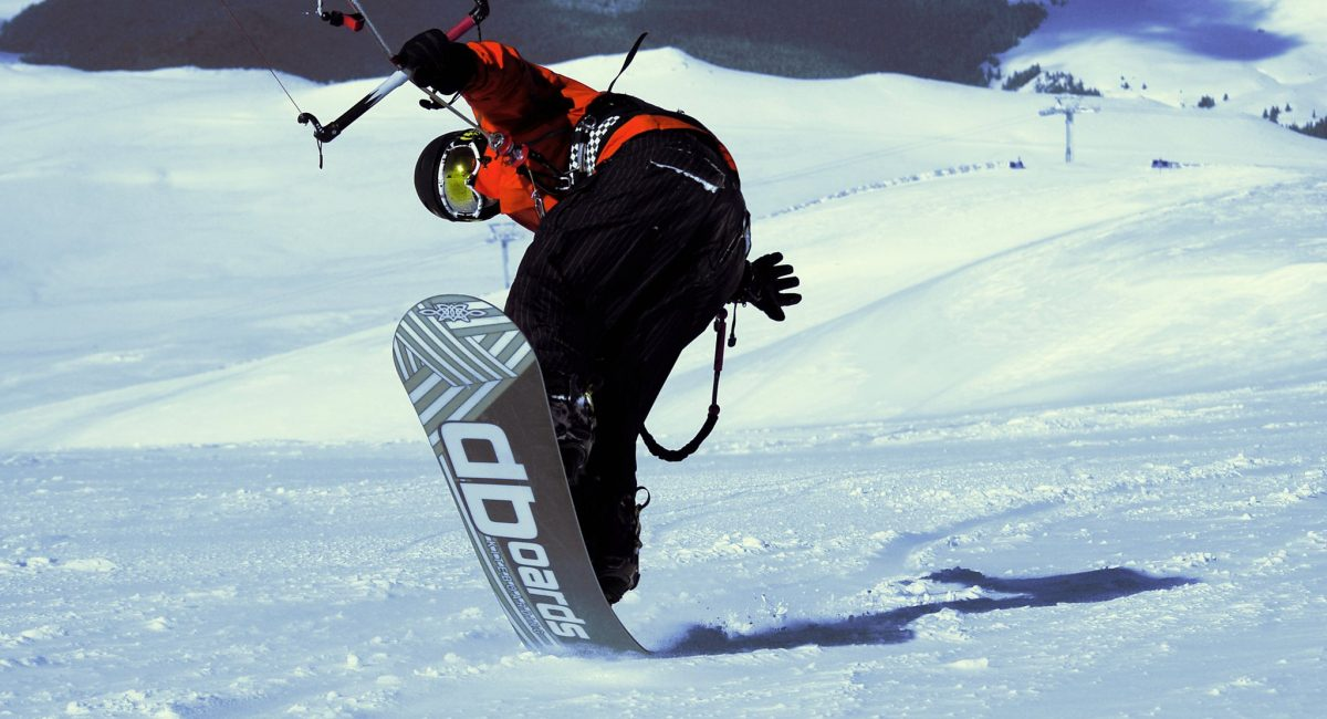 George Lipanescu snowkite